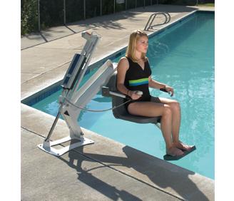 La maison andr viger l ve personne pour la piscine for Leve personne piscine